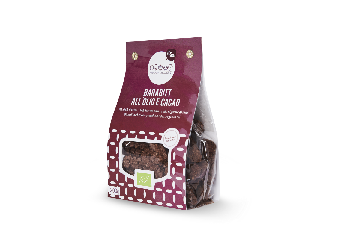 BARABITT all'olio e cacao